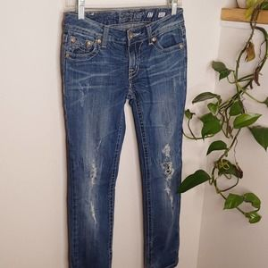Miss Me Sunny Straight Jeans, 27